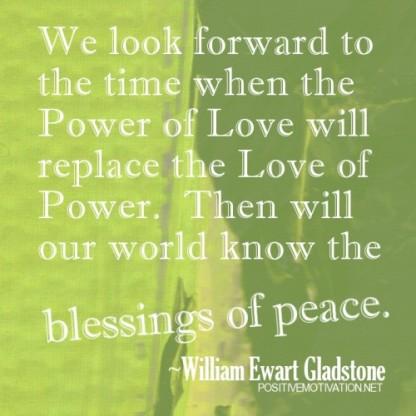 powe and love