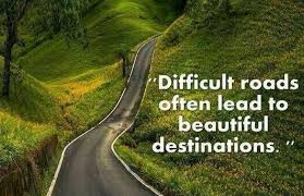 difficult road