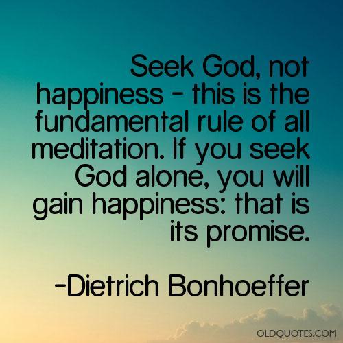 seek God 3