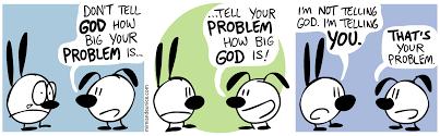 tell god