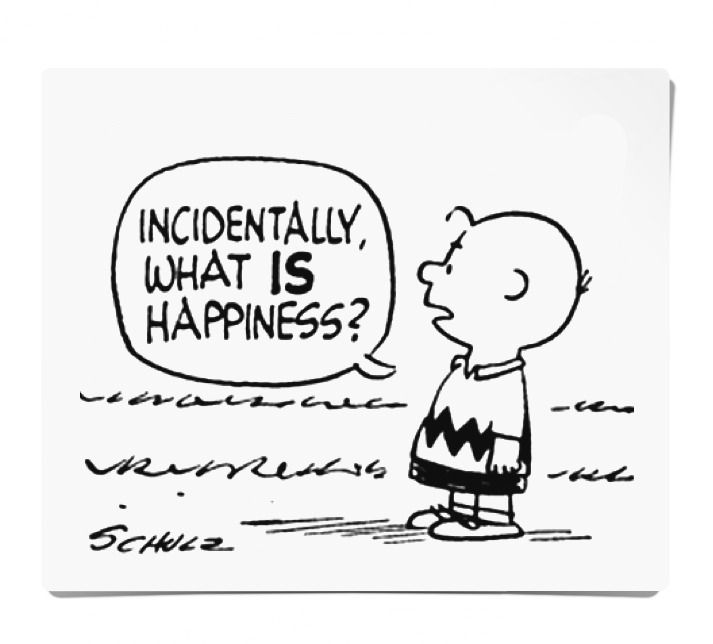 charlie brown happy