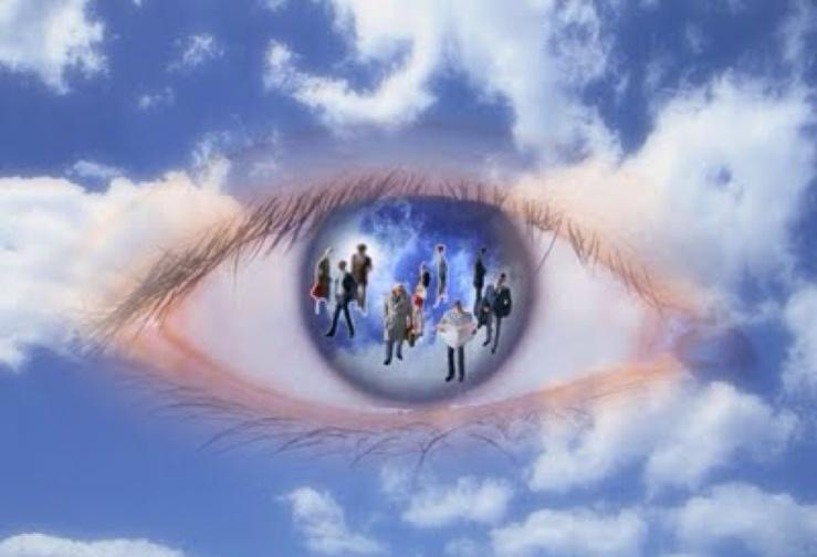 gods eye view