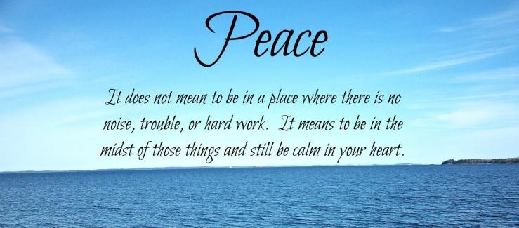 peace calm heart 2013