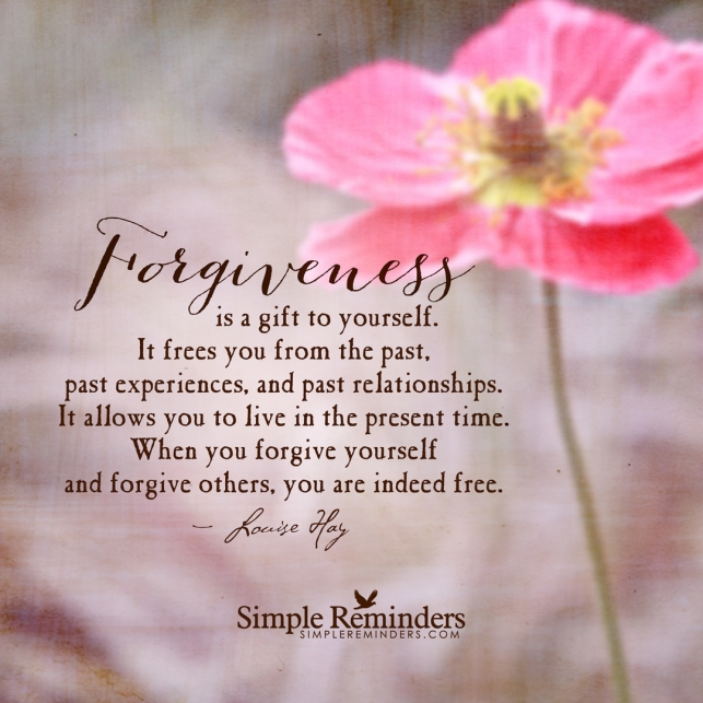 forgiveness frees