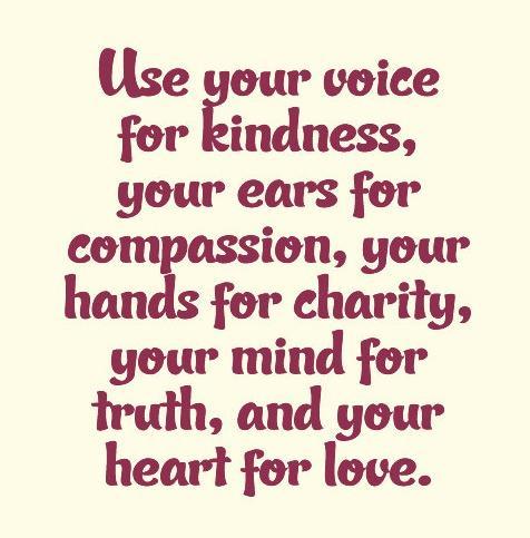 use compassion