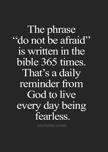 do not be afraid 2