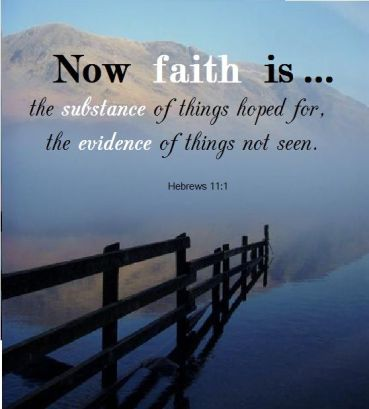 faith is the thing