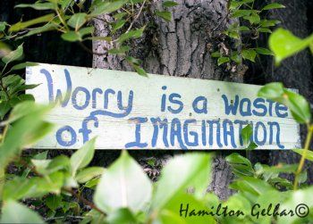 worry is a waste